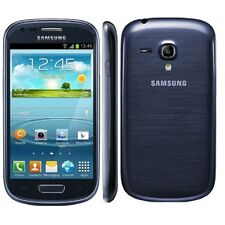 NEW SAMSUNG GALAXY S3 SM-G730A 4G LTE MINI BLUE AT&T UNLOCKED SMARTPHONE