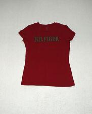 Unifarbene Tommy Hilfiger Damen-T-Shirts aus Baumwolle