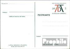 BRD (BR.Duitsland) PSo3/01 Speciale Postkaarten gefälligkeitsgestempelt gebruikt