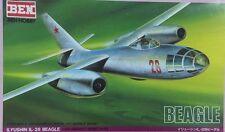 BEN HOBBY 1/100 Ilyushin IL-28 Beagle (RARE ITEM) - BEN-A26
