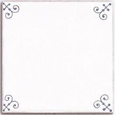 """Fliese wie aus Holland: Blau-weiß, Motiv """"Friesland"""", 15 x 15 cm"""