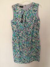 NWT Jones New York Lilac Multi color Women Wrap Dress MSRP: $139 Plus Size: 16