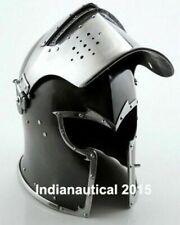Visored Barbuta Helmet Medieval Armour Helmet Warrior Halloween Costume Gift New