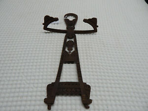 "Victorian 17"" Cast Iron Umbrella Fireplace Tool Holder Stand"