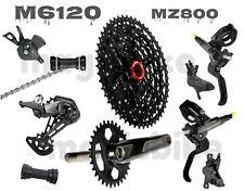 2021 Shimano M6120 Deore 12 Speed MTB 7PCS Groupset w/Sunrace 11-51T MZ800 New