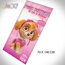 9317 Toalla microfibra Skye Patrulla canina 70 x 140 cm