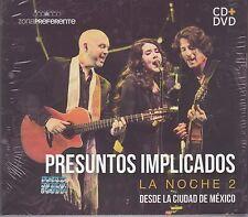 Presuntos Implicados La Noche 2 Desde La Ciudad de Mexico CD+DVD Caja de Carton