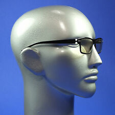 Screen Glasses Computer TV Anti Fatigue No Glare Clear Lenses Black Frame