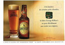 PUBLICITE ADVERTISING 1993    GEORGE KILLIAN'S   Bière ( 2pages)