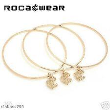 LADIES ROCA WEAR Wonderful Bracelet 14K GOLD PLATED S/S