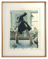 NORMAN ROCKWELL Original Lithograph Custom Framed from