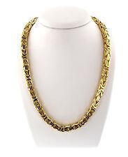 7mm Königskette Halskette aus 585 Gold Gelbgold 14 Karat 66cm Herren Goldkette