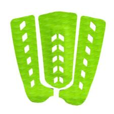 3Pcs Pro Surfboard Skimboard Tail Pad Non Slip Traction Pad Deck Grip Green