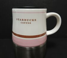 Starbucks Coffee Travel Mug 2006 Ceramic Stainless Bottom 14 oz
