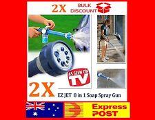 2x Pressure Washer Cleaner EZ Jet Water Soap Spray Gun Garden Nozzle Car Wash
