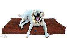 """Shredded Memory Foam Orthopedic Dog bed for Large Breed Dogs,40""""x35"""",Brown"""
