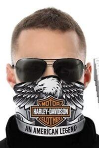 Harley Davidson Neck Gaiter Soft tail Street Glide Ultra Glide Sportster bike HD