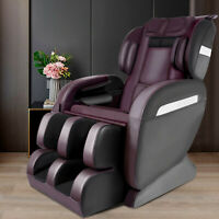 Full Body Shiatsu Electric Massage Chair Recliner ZERO GRAVITY W/ Foot Roller US