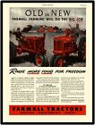 1942 International Harvesters New Metal Sign:  Farmall Model H Featured
