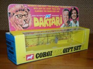 Corgi Toys Gift Set GS 7 Daktari Set Safari Landrover Empty New Reproduction Box