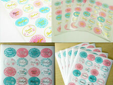 120Pcs Gold Color THANK YOU Label Sticker Starburst Colors Neon Envelope Gift