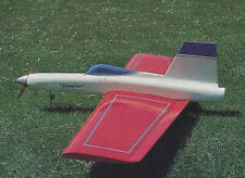 1/2A or Electric Skywalker Flying Wing Sport Plane Plans,Templates,Instruc 40ws
