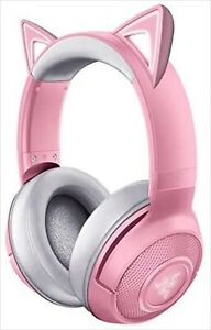 RAZER Kraken BT Kitty Edition Quartz Pink Bluetooth 5.0 Gaming Headphone NEW