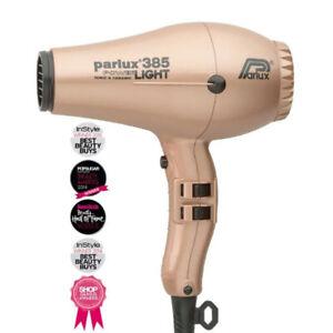 Parlux 385 Powerlight Ionic Ceramic Dryer 2150W - Light Gold