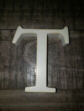 """Pottery Barn White Letter """"T"""""""