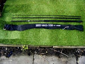 SUPERB SHAKESPEARE  CARB FIBRE FLOAT ROD 1841-330 SERIES 3.30M LONG VGC