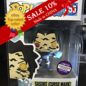 Funko Pop!Naruto Sasuke(Curse Mark)#455 Limited Edition。With Protector(Replica)