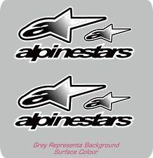 Alpinestars Negro Moto Casco Pegatina Calcomanía Repsol Kawasaki Yamaha Honda