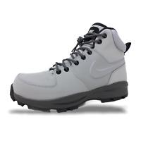 Nike Manoa Leather Mens Boots Wolf Grey/Thunder Grey-Black 454350 004 (NEW)