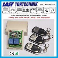 Programmer Basic-3 - 2-Kanal Empfänger 433MHZ, Taster / Schalter, 3 Stück Sender