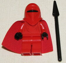 LEGO NEW STAR WARS IMPERIAL ROYAL GUARD MINIFIGURE MINIFIG WITH SPEAR SET 10188
