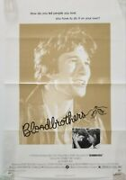 Vintage 1978 BLOODBROTHERS One Sheet Poster RICHARD GERE PAUL SORVINO LOBIANCO