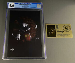Disney Comics & Stories #13 CGC 9.6 Dell'Otto Gold Foil Virgin Mickey Mouse