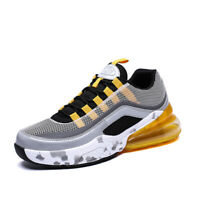 Mens Breathable Comfortable athletic sneakers jogging gym running shoes Big Size