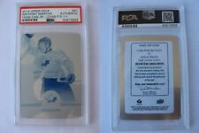 2014-15 Upper Deck #91 Anthony Mantha 1/1 cyan plate RC PSA Canada Rookie