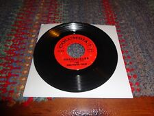 """1960 .RARE Brothers Four Greenfields / Angelique-O  4-41571  7"""" 45  VG / WH ITE"""