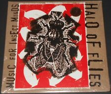 HALO OF FLIES music for insect minds USA 2-LP new sealed WHITE & BLACK VINYL