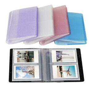 64 Capacity Cards Mini Holder Binders Albums With bling Clear Cover For 6*9cm Bo