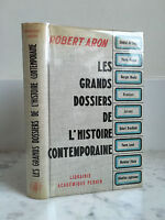 Robert Aron Las Grandes Carpetas Historia Contemporánea 1962
