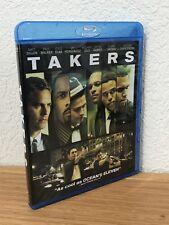 TAKERS (Blu-Ray, 2011) REGION FREE ~ FLAWLESS ~ SEE PICS!