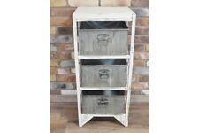 Industrial Storage Unit Retro/Vintage Look Cool Furniture / Desk tidy