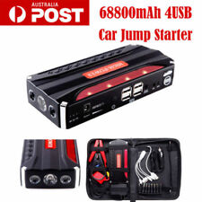 68800mAh Vehicle Car 12V Jump Starter Booster Battery Power Bank 4USB Charger AU
