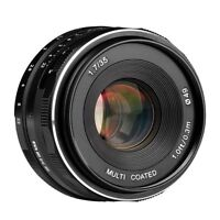 Meike MK-35mm F1.7 Multi Coated Fixed Manual Focus Lens for Canon-EF-M EOS M1/M2