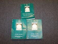 1998 Ford F150 Pickup Truck Shop Service Repair Manual Set XL XLT Lariat