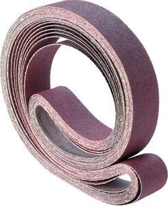 100mm x 1060mm ABRASIVE SANDING BELT- Al/Oxide, Zirc, Ceramic - Various Grades