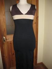 Elastane V-Neck Long Sleeve Dresses for Women